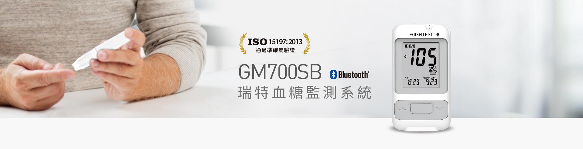 瑞特血糖監測系統GM700SB