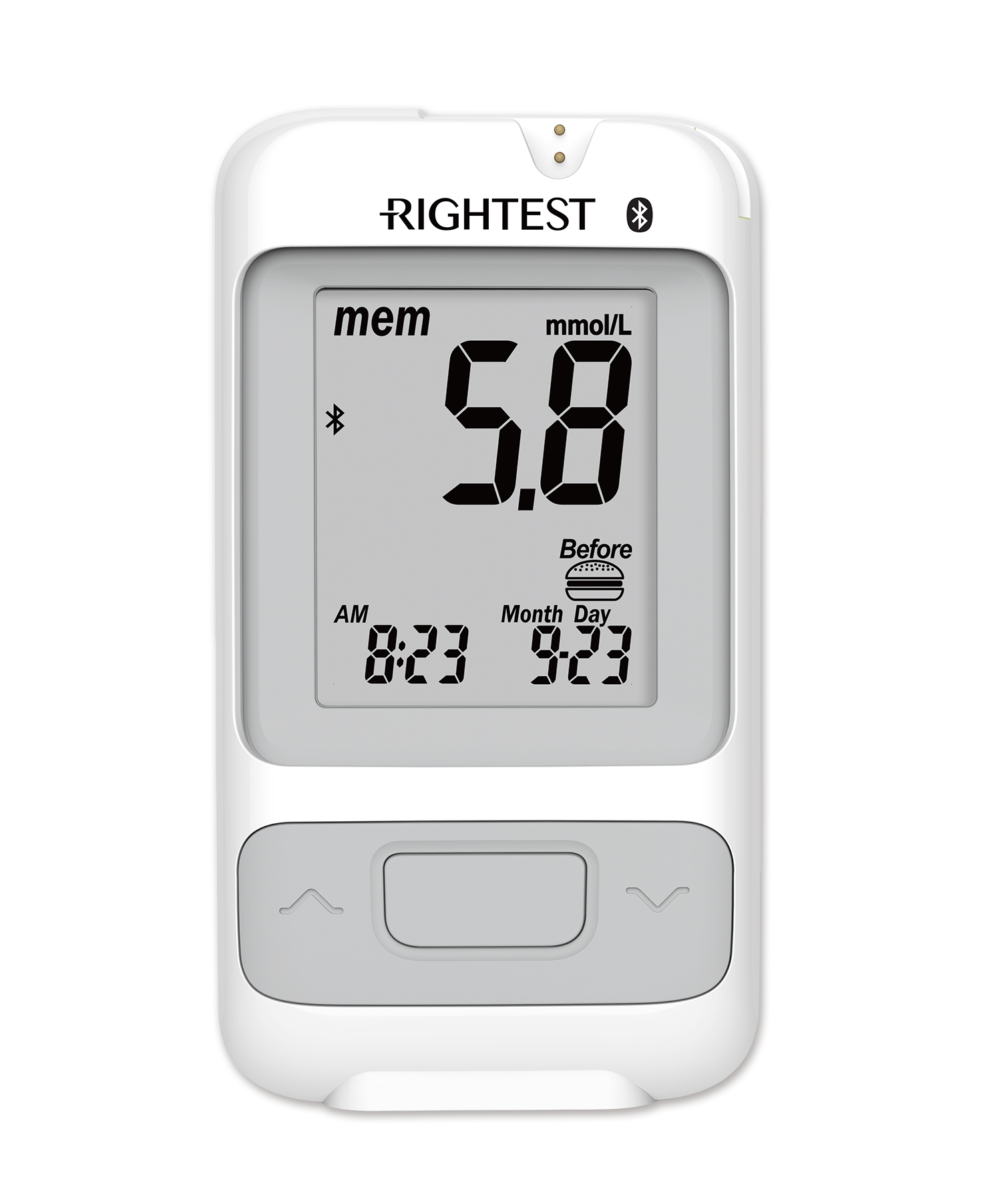 Rightest Gm700sb Bluetooth Blood Glucose Monitoring Systems