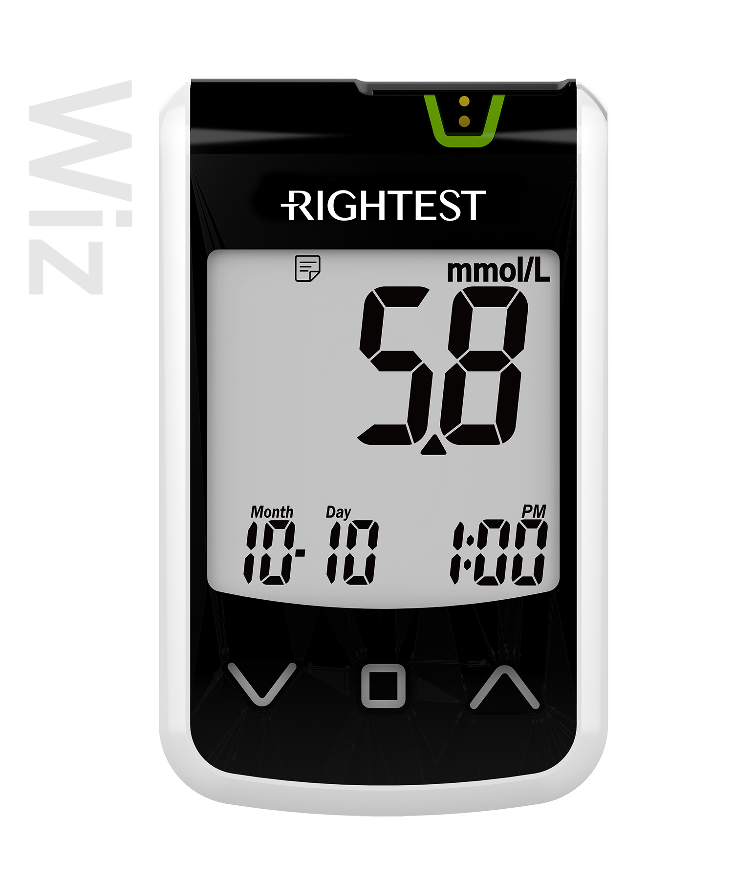 pro-img/05_Wiz/en/Wiz(mmol)-Rightest-glucose-meter.jpg
