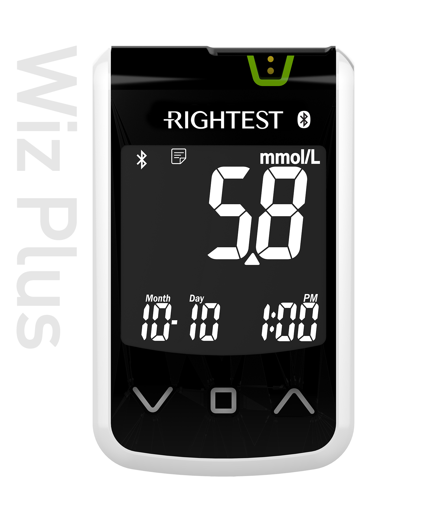pro-img/05_Wiz/en/Wizplus(mmol)-Rightest-glucose-meter.jpg