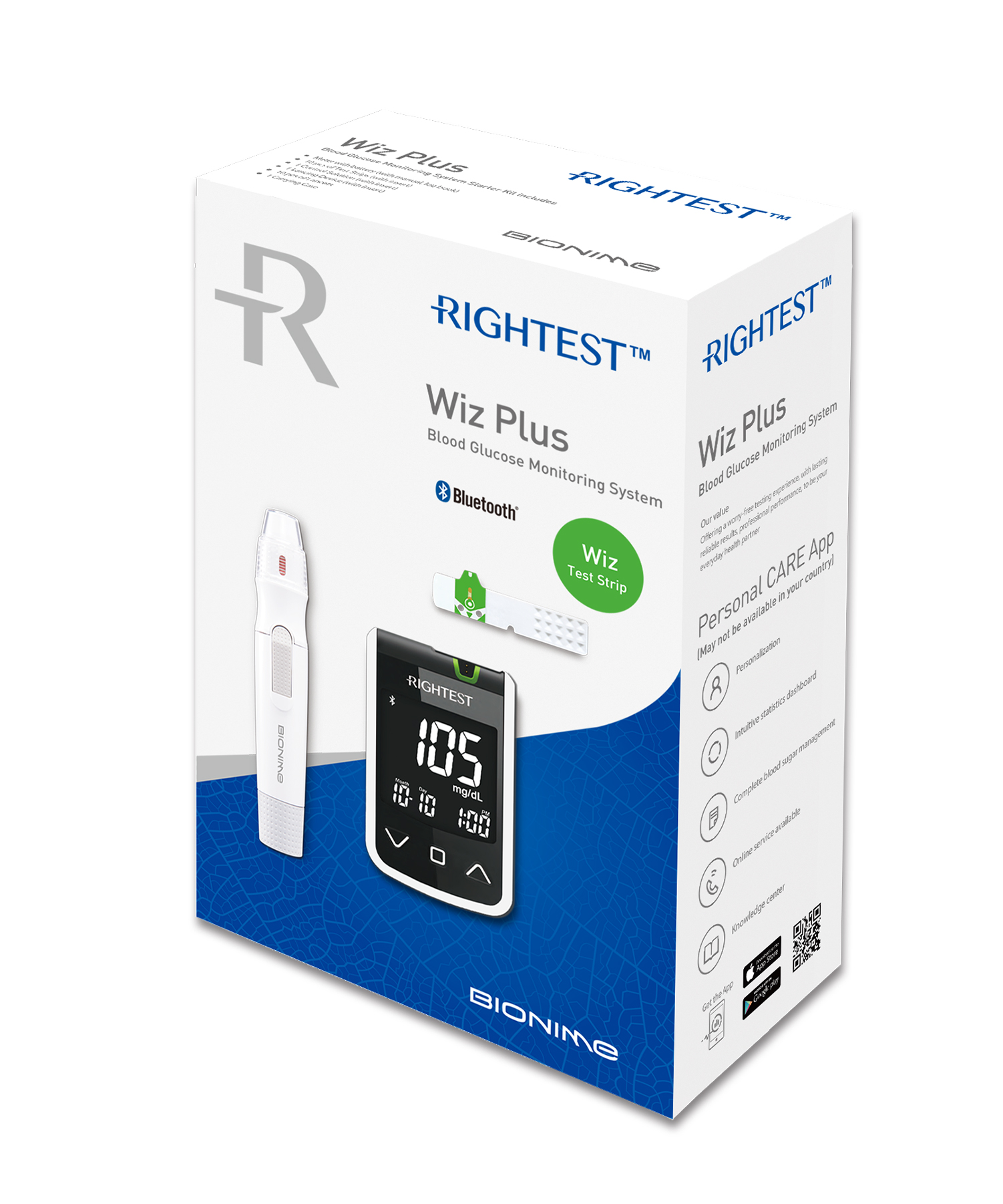 pro-img/05_Wiz/en/Wizplus-box(mmol)-en-Rightest-glucose-meter.jpg